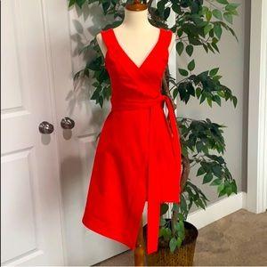 Alexis Catalina Wrap & Tie Belt Asymmetrical Dress